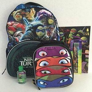 Teenage Mutant Ninja Turtles Backpack Lunchbox etc